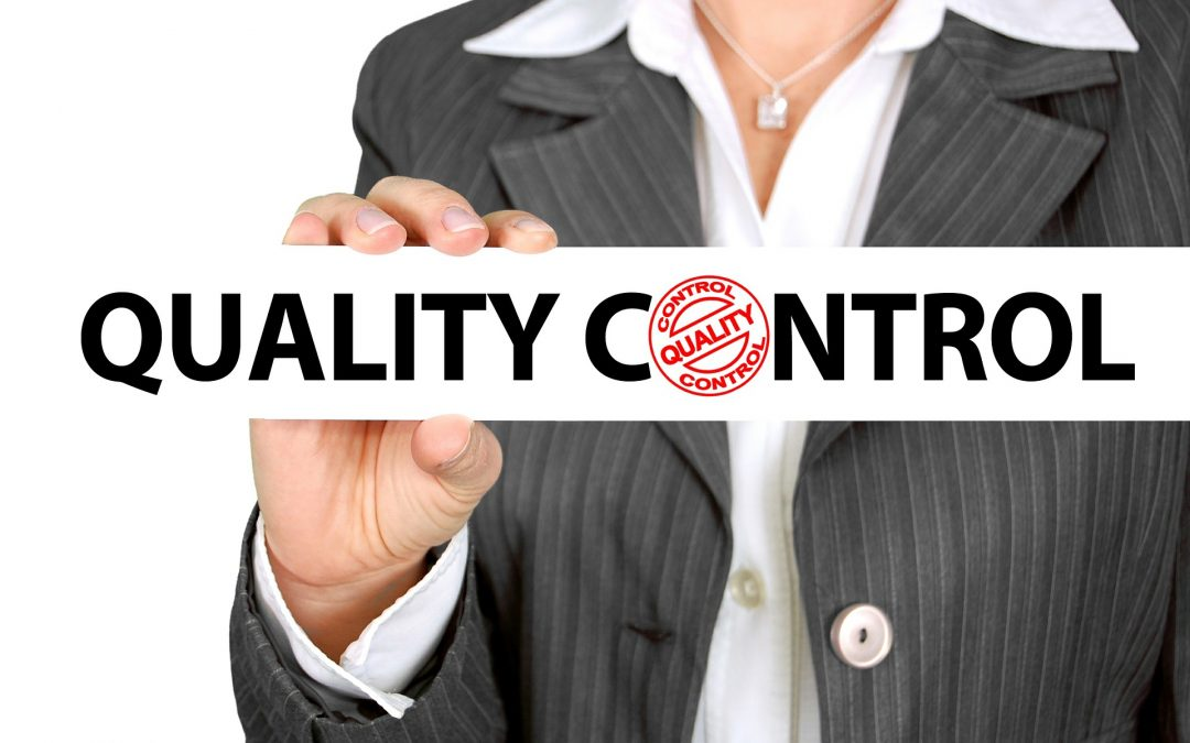 Only source goods and products from quality suppliers